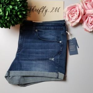 [Universal Thread] Mid-Rise Midi Shorts